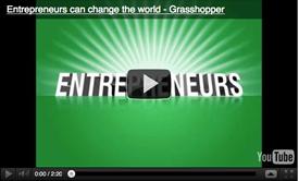 Grasshopper: Entrepreneurs can change the world video