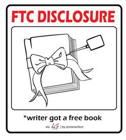 FTP Disclosure: writer got a book