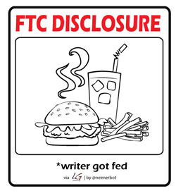 FTP Disclosure: writer got fed