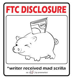 FTP Disclosures: writer got paid