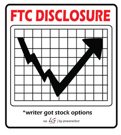 FTP Disclosures: writer got stock options